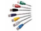 CommScope 110型超五类快接式跳线4对7英尺(110P8CAT5-7B)